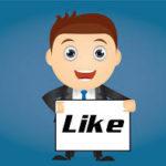 boy facebook like