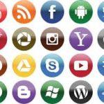 social media sharing icons
